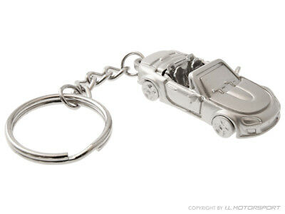 MX-5 Keyring Silver Eloxated MK3 Model Mazda MX-5 MK3 & MK3.5 2005 - 2015