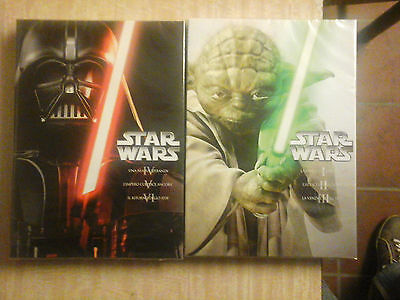 Star Wars - Le Due Trilogie (6 DVD) - ITALIANI ORIGINALI SIGILLATI -