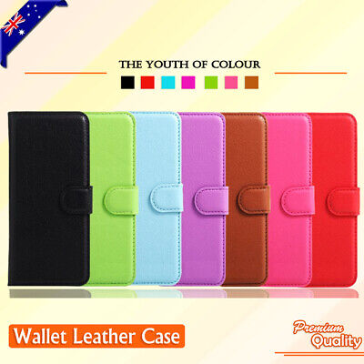 For Optus ZTE ZIP / Telstra 4GX Smart Wallet Leather PU Flip Case Cover