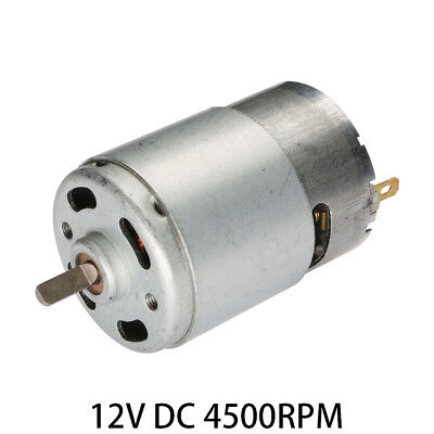 DC 12V 4500RPM Torque Magnetic Mini Electric Motor for Electrical Tools
