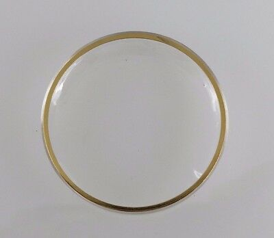 Replacement Watch Crystal For Omega PX 5005 With Yellow Tension Ring
