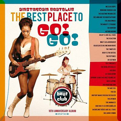 V.A.* The Best Place To Go!Go! Amsterdam Beat Club  2-LP Neu