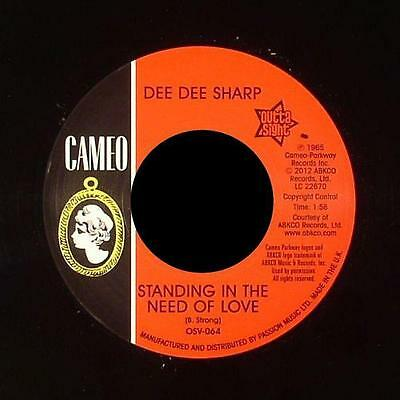"DEE DEE SHARP * Standing In The Need Of Love + Comin' Home Baby  7""*Outta Sight"