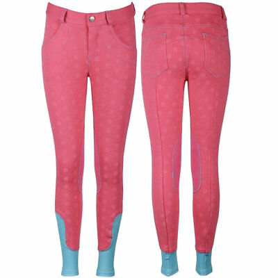 Breeches LouLou SU15, raspberry by Harry's Horse - 26004810 RRP $75.5