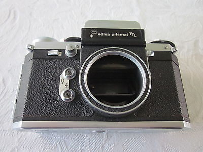 Vintage Edixa Prismat Ttl Camera Body Only. Made In Germany.