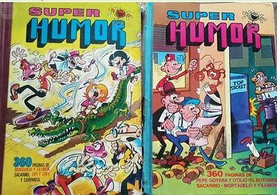 2 Comics Super Humor de Editorial Bruguera (año 1978)