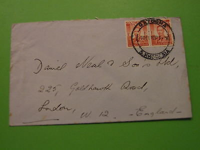 Cover Southern Rhodesia To England 1937 Gatooma Cancel . See Post Offer