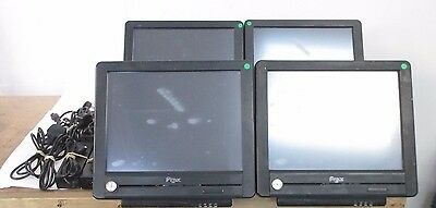 4 x PROTECH Systems PS8551A POS Terminals 15'' Touchscreen PC VIA C3 1GHz 80GB