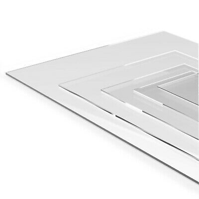 Cast Acrylic Sheets PERSPEX®  High quality Cut To Size Panels Plastic Panel