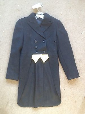 Grand Prix Dressage SHADBELLY Show COAT Girls 8R *Black*  Beautiful *