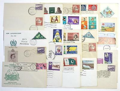 Pakistan 25 x First Day Covers, Special Event covers. 1961 - 1979
