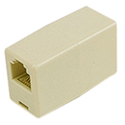 Steren Electronics 300-037 Connector RJ-12 Adapter Female to Female 6/6 P 10 pcs