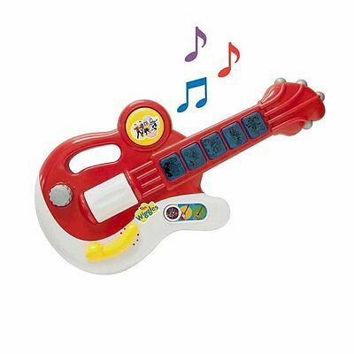 "The Wiggles Play Along Musical Guitar Pretend Play RETIRED ""Hot Potato"" + 4 more"