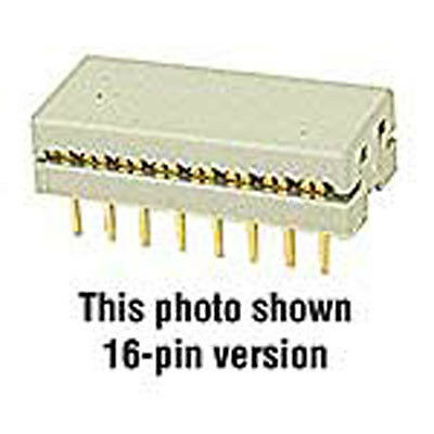 Connector IDC DIP Plug 14 Pin 0.1 Amp Use with Part 37671 15 pcs