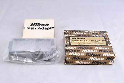 F/S* Nikon Original SW-1 Wide Flash Adapter for SB-2, SB-3 Boxed w/ instruction