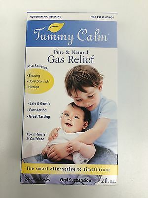 Tummy Calm *homeopathic Medicine For Gas Relief* Genuine Pharmacy Stock, Sealed
