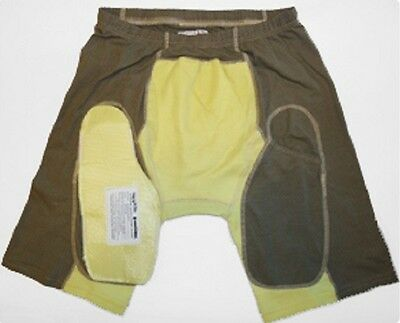 US Army SHRAPNEL Protective Kevlar under shorts Hose w ballistic groin protector