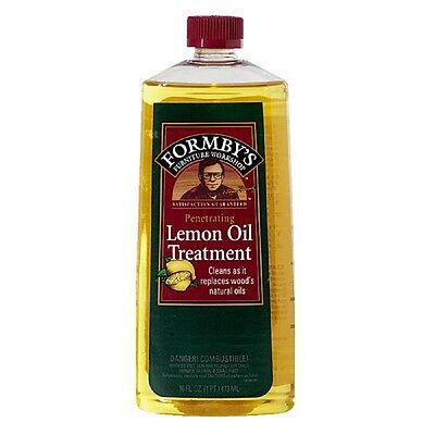 Formby's Penetrating Lemon Oil Wood Clean Preservative Treatment 16 OZ 30115