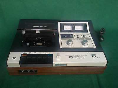 National Panasonic Tape Deck Dolby Rs-269 Cassette Rare Retro Vintage