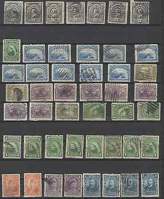 Stamps Newfoundland 47Pc Used Lot