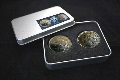 Batman the Dark Knight Two Face Coin Set with gift box