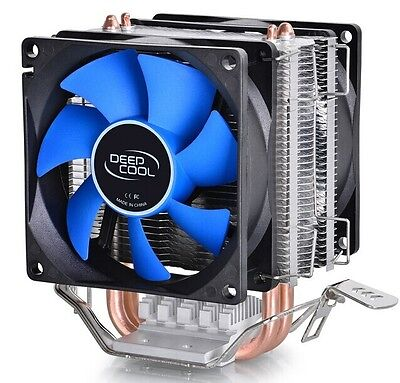 DEEPCOOL GAMMAXX 300 CPU Cooler, 3 Heatpipes 120mm PWM Fan for Intel Cooler AMD