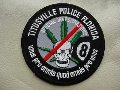 Titusville Police Florida Special Investigations   Patch.