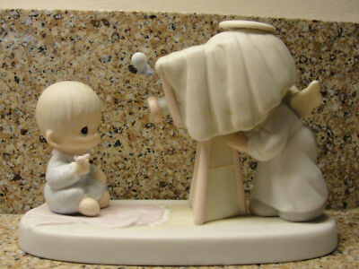 """Precious Moments"""" Baby's First Picture 1983 - """"vintage Sleeping Treasure"""" Rare"""