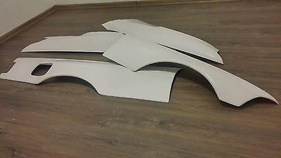 BMW E36 coupe FRONT Felony form style OVERFENDERS DRIFT +50mm bodykit racing