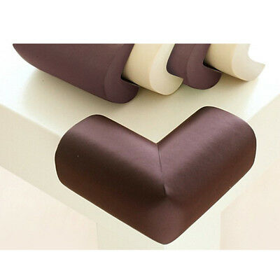 10x Soft Toddler Kid Baby Safety Corner Desk Table Edge Cushion Cover Coffee