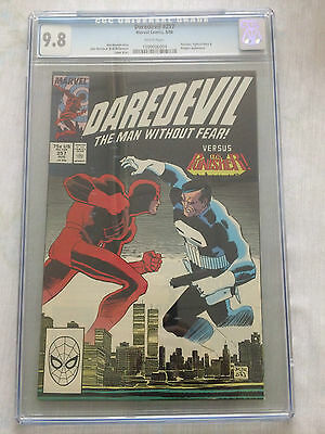 Daredevil 257 CGC 9.8 White Pages