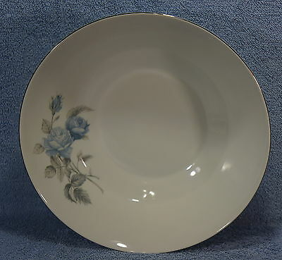 """Hutschenreuther Alicia Blue Rose 9 3/4"""" Large Round Vegetable Serving Bowl"""