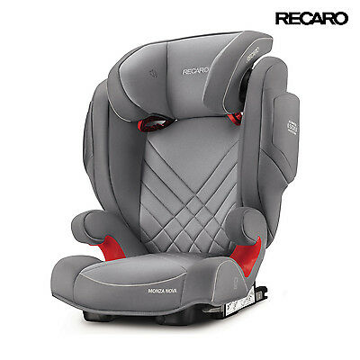Recaro Monza Nova 2 Seatfix Grey Child Seat (15-36 kg) (33-80 lbs)