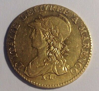 20 Francs Lire AN 10 Victoire a Marengo Frankreich France Gold Münze Or Oro