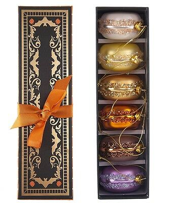 Katherine,s Collections Macaroon Ornament Box Set  SKU 22-622060