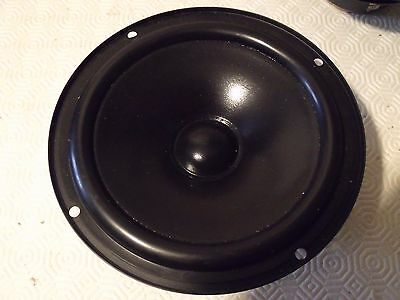 """2 x NOS 6.5"""" Bass Units to fit Mission 70 speakers"""