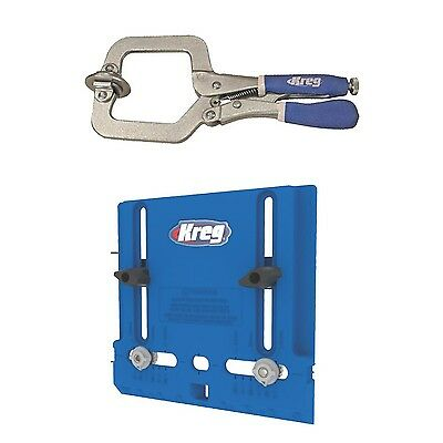Kreg Cabinet Hardware Jig with Face Clamp