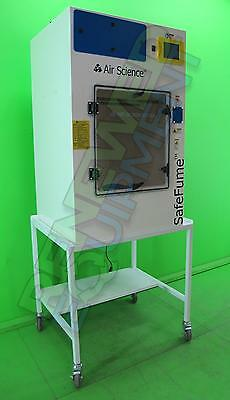 Air Science CA30S SafeFume Cyanoacrylate Fuming  Forensic Chamber with Cart #1