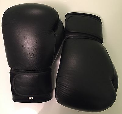 Unbranded Sports Premium CowHide Leather Boxing Gloves Training/Sparing/Bag 16oz