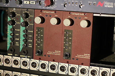 LaChapell 583s 500series Valve Preamp. (2 available)