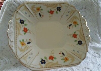 Melba Ware hand painted cake plate