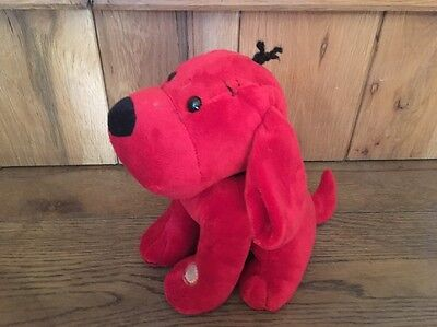 Scholastic Exclusive - Clifford The Big Red Dog BIG PLUSH SOFT Talking TOY -Rare