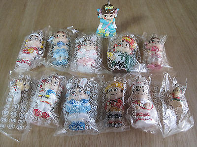 TEN NEW Japanese Fujiya PEKO-CHAN CHARMS 2 Inches w/Hook * Ship to USA $4.99
