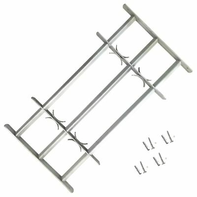 Adjustable Window Security Grilles Bars Shed Office with 3 Crossbars 500-650 mm