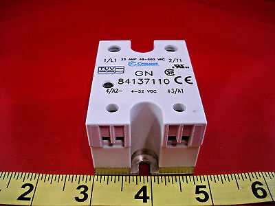 Crouzet 84137110 Solid State Relay 25 amp 48-660vac 84 137 110 25a 4-32vdc Nnb