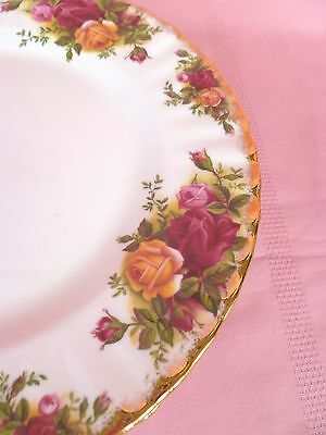 Genuine~Vintage~c1962~Royal~Albert~Old~Country~Roses~English~Entree~Salad~Plate
