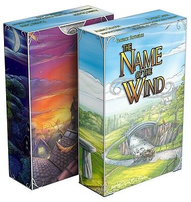 The Name of the Wind Deck Playing Cards Poker Size USPCC Custom Limited Sealed