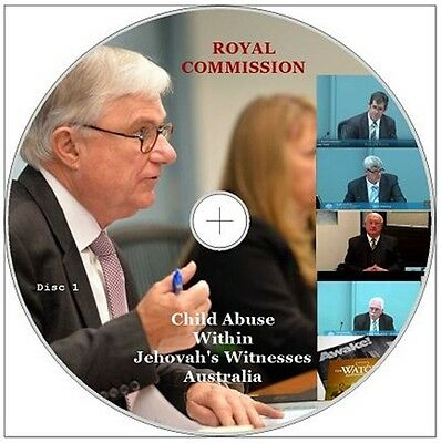 Jehovah's Witnesses Child Sexual Abuse Australian Royal Commission Videos Docs