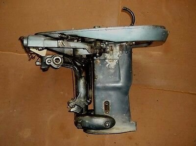 A778 1965 33 HP Evinrude Midsection and Lower Cowl From 33502B PN 0387535