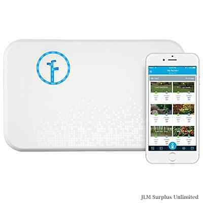 White Smart Sprinkler Zone 2nd Works Alexa Water Your Yard While Access System